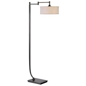 Uttermost Lamps Lamine Dark Bronze Floor Lamp