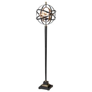 Uttermost Lamps Rondure Sphere Floor Lamp
