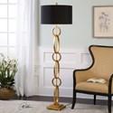 Uttermost Lamps Lovell Gold Floor Lamp
