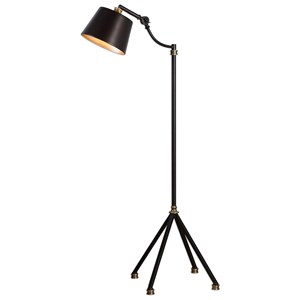 Uttermost Lamps Marias Black Metal Floor Lamp