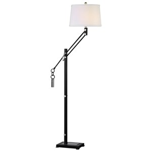 Uttermost Lamps Tellico Cantilever Floor Lamp
