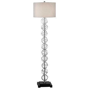 Uttermost Lamps Italo Stacked Sphere Floor Lamp