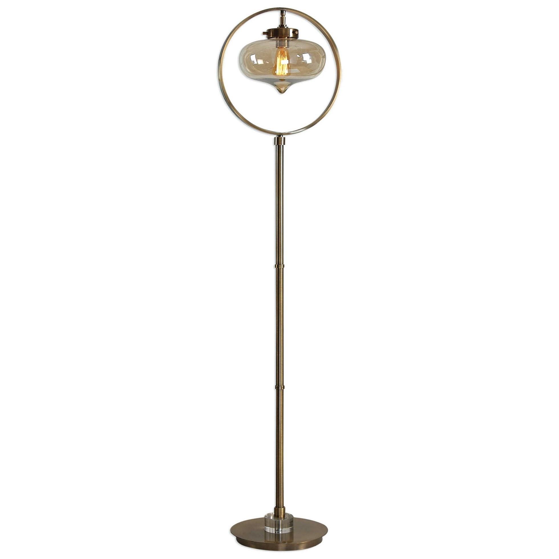 Uttermost Lamps 28154 1 Namura Edison Globe Floor Lamp