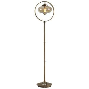Uttermost Lamps Namura Edison Globe Floor Lamp