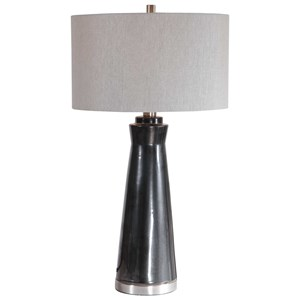 Arlan Dark Charcoal Table Lamp