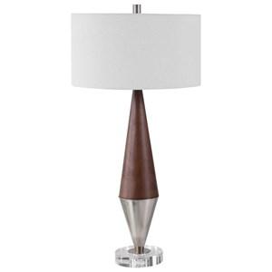 Haldan Mid-Century Table Lamp