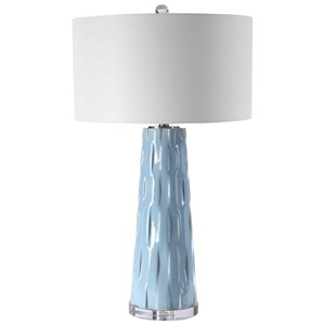 Brienne Light Blue Table Lamp