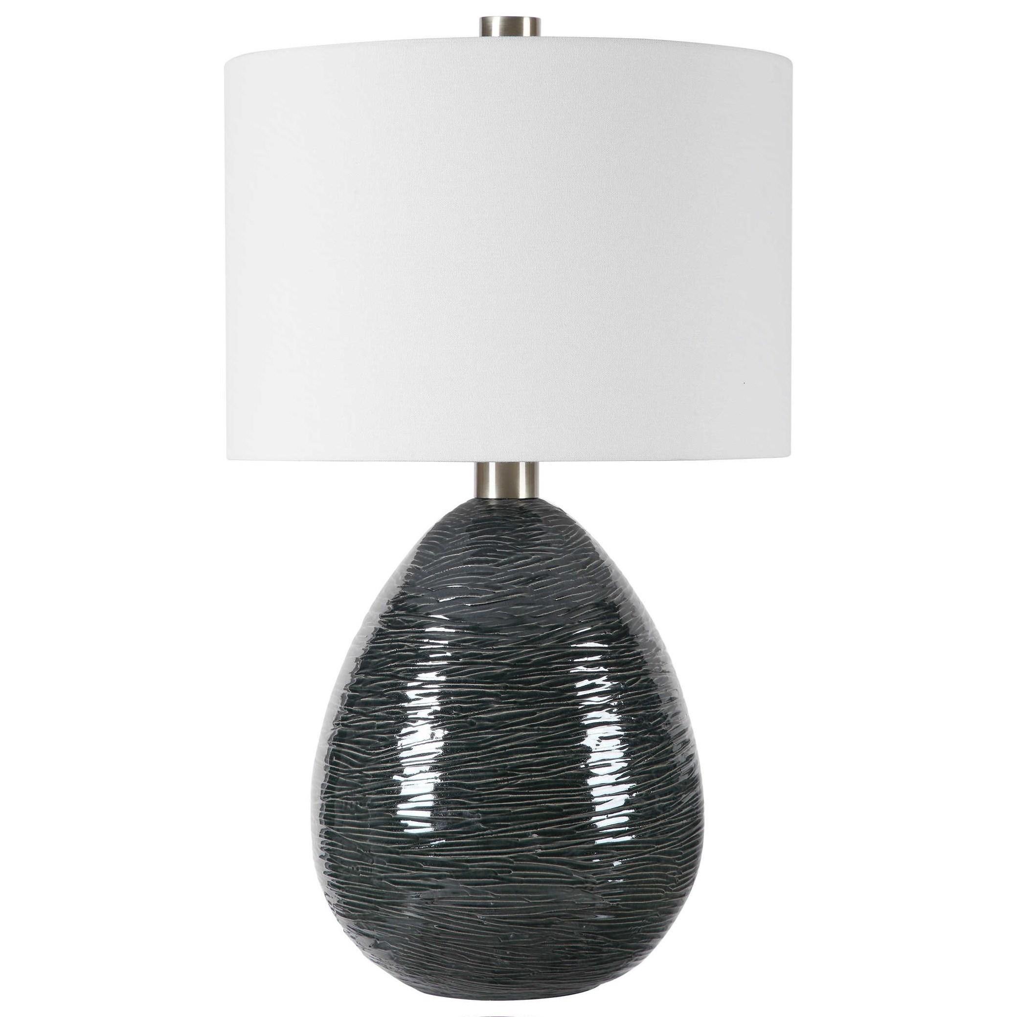Arikara Dark Teal Table Lamp