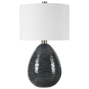 Arikara Dark Teal Table Lamp