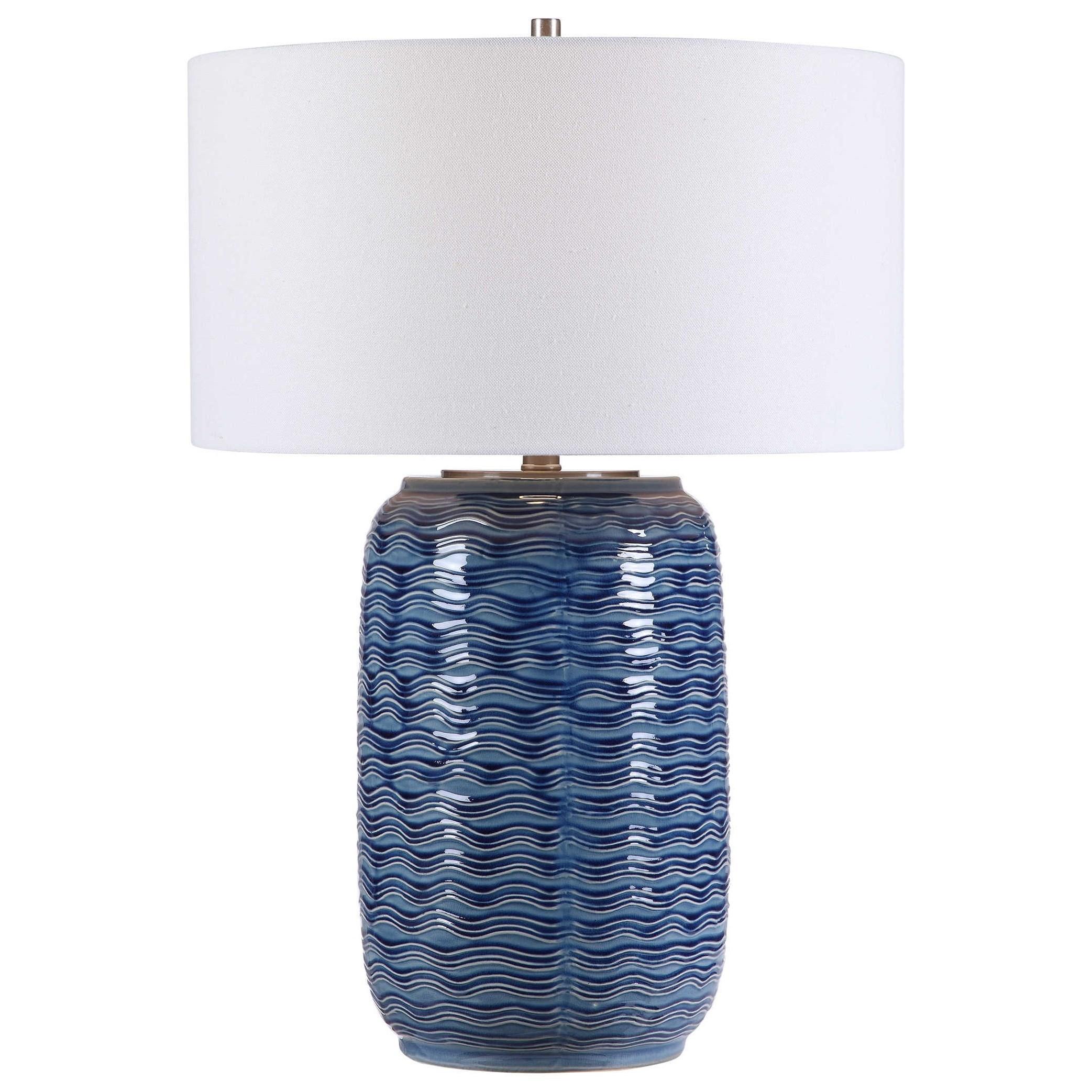 Sedna Blue Table Lamp