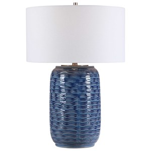 Sedna Blue Table Lamp
