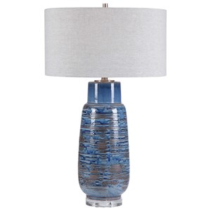 Magellan Blue Table Lamp