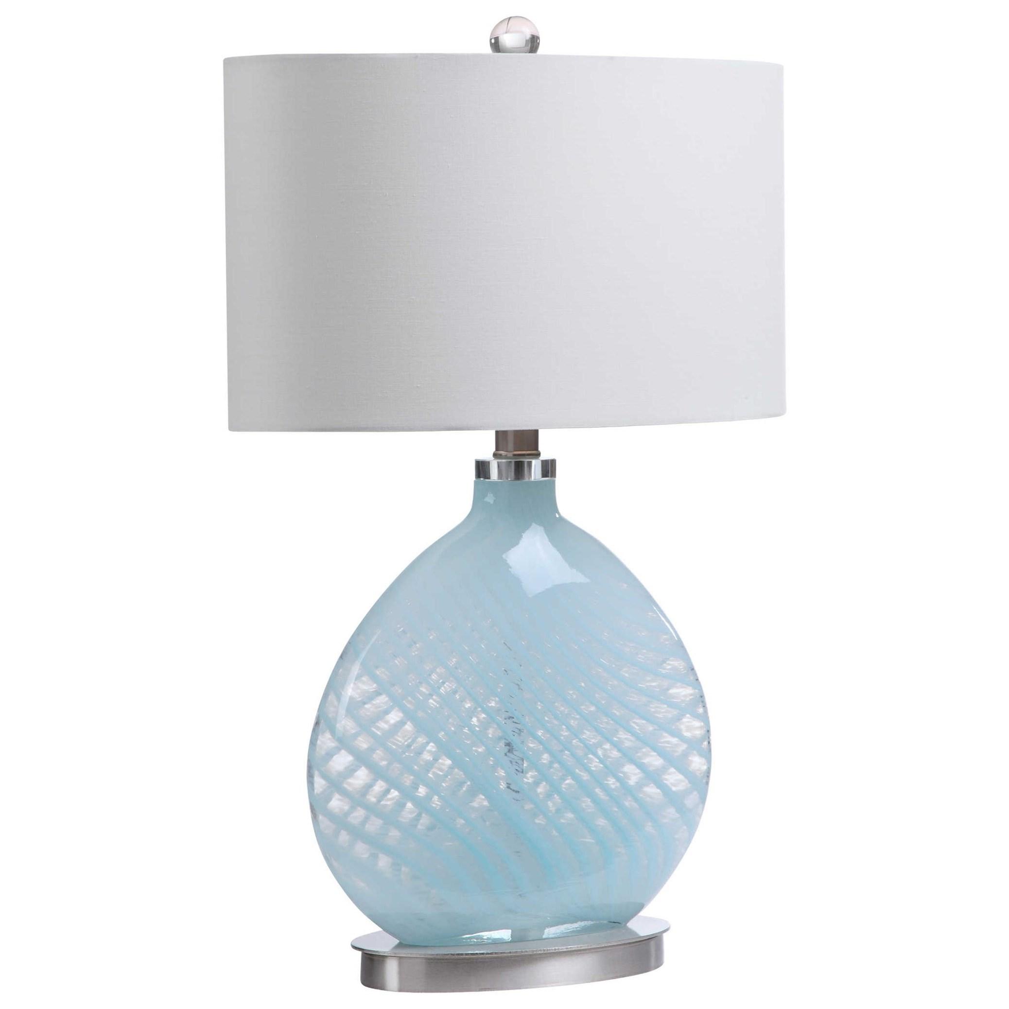 Aquata Glass Table Lamp
