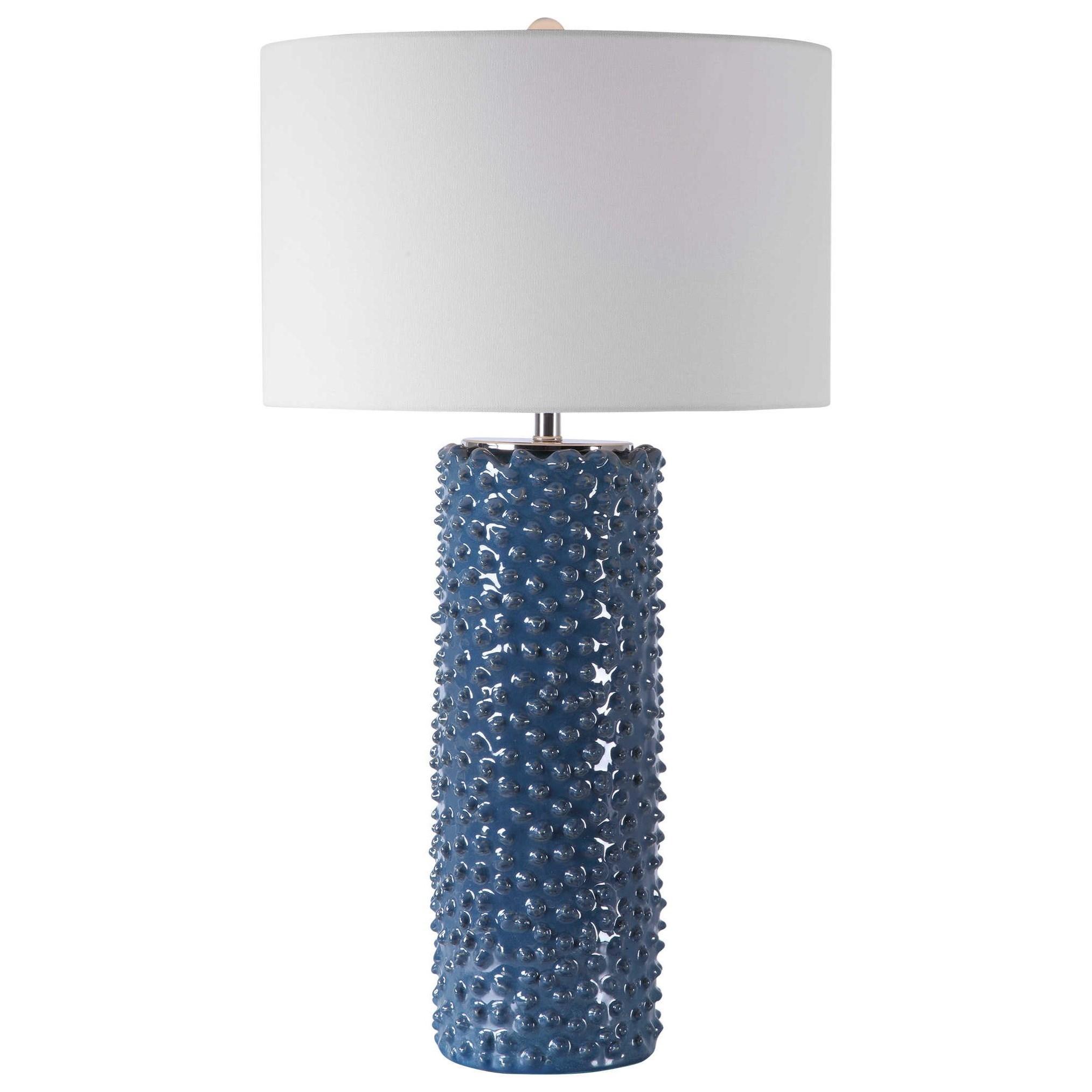 Ciji Blue Table Lamp