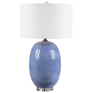 Westerly Blue Table Lamp