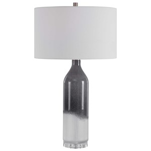 Natasha Art Glass Table Lamp