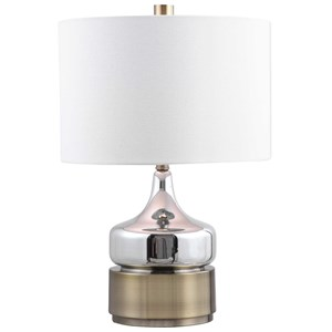 Como Chrome Table Lamp