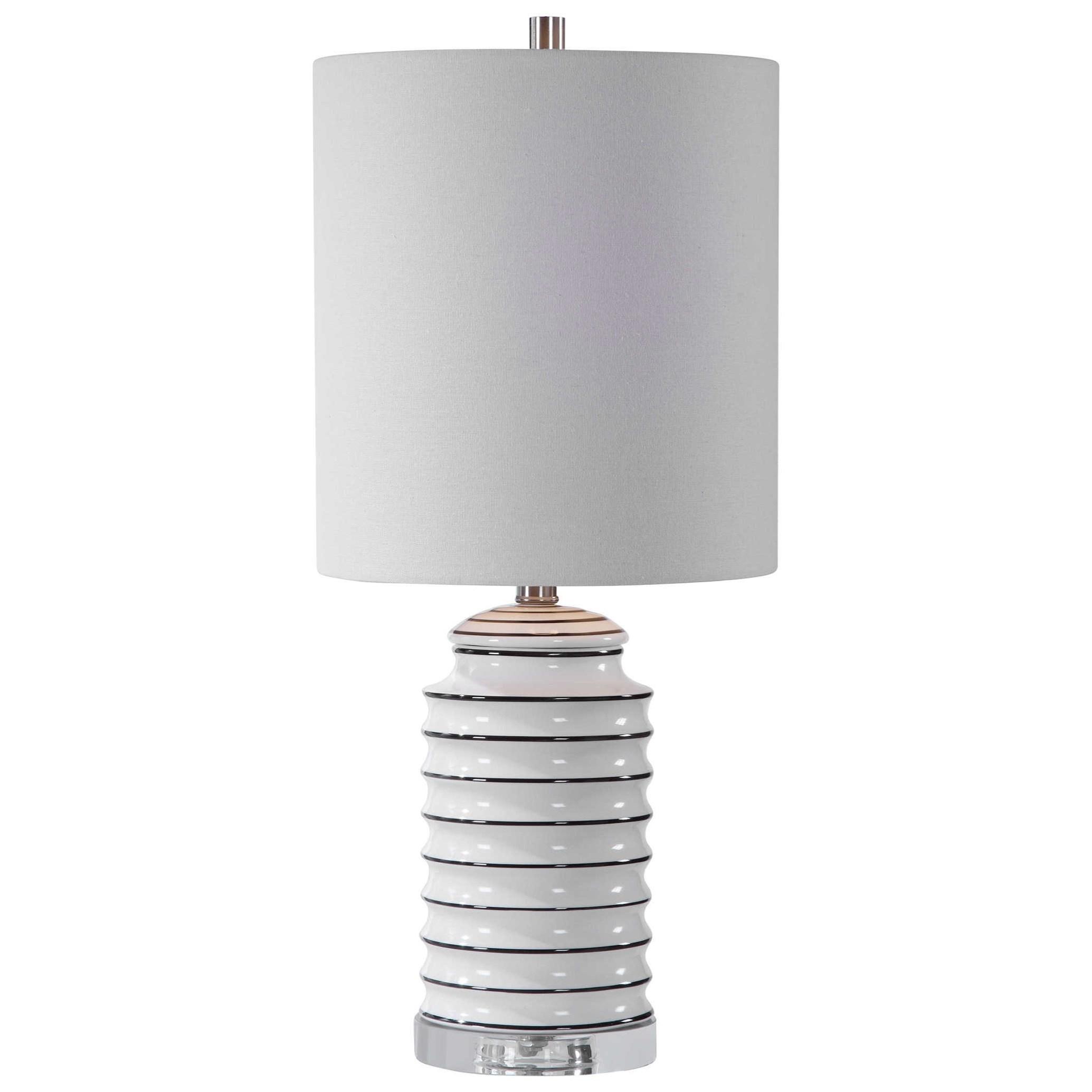 Rayas White Table Lamp