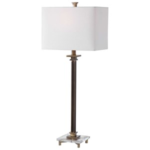 Phillips Brass Table Lamp