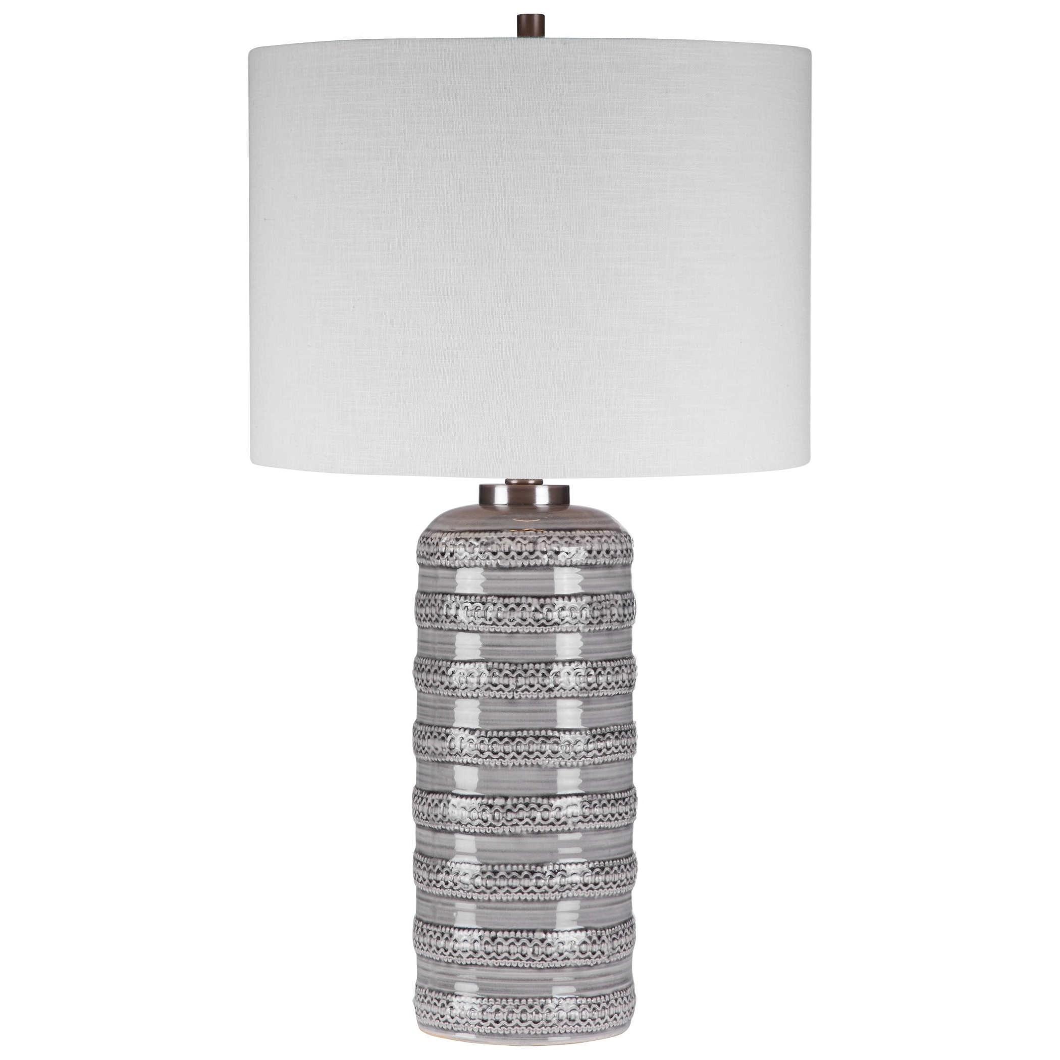 Alenon Light Gray Table Lamp
