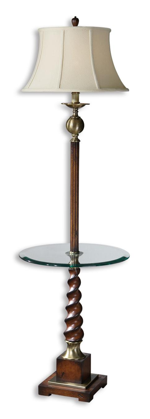 Myron Twist End Table Lamp