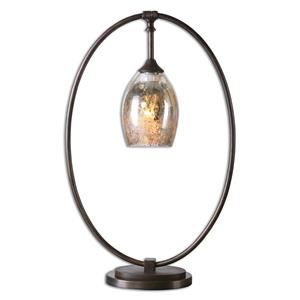 Uttermost Lamps Lemeta Oval Table Lamp