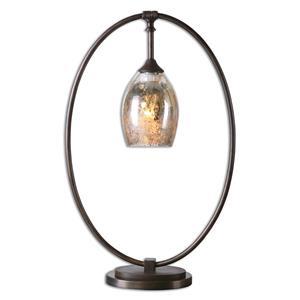 Uttermost Lamps Lemeta Oval Table Lamp
