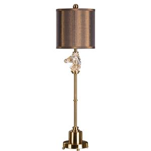 Uttermost Lamps Cavalier Brushed Brass Buffet Lamp