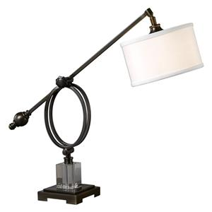 Uttermost Lamps Levisa Dark Bronze Desk Lamp