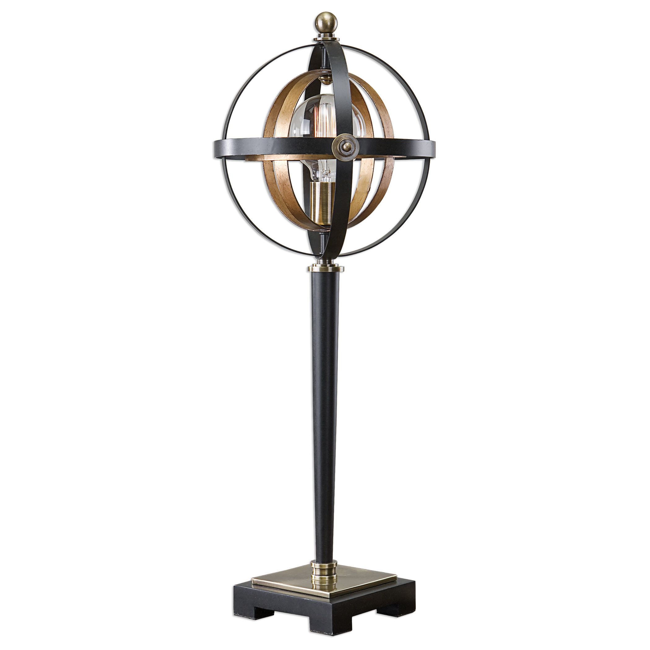 Accent Lamps Rondure Sphere Table Lamp by Uttermost at Upper Room Home Furnishings
