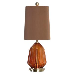 Uttermost Lamps Tomoka Amber Glass Lamp