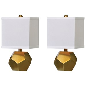 Uttermost Lamps Pentagon Cubes (Set of 2)