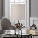 Uttermost Lamps  Silver Lotus Accent Lamp