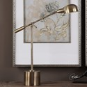 Uttermost Lamps  Herndon Brass Desk Lamp