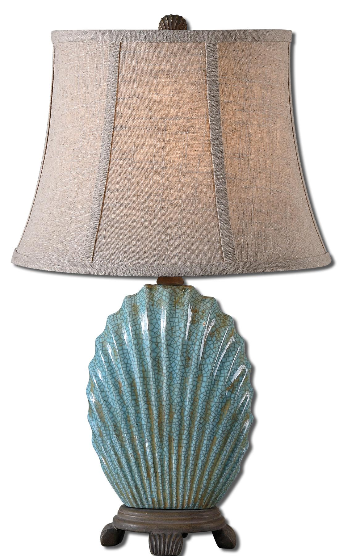 Accent Lamps Seashell by Uttermost at Suburban Furniture