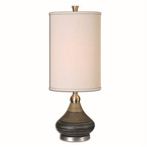 Uttermost Lamps Warley Aged Black Table Lamp