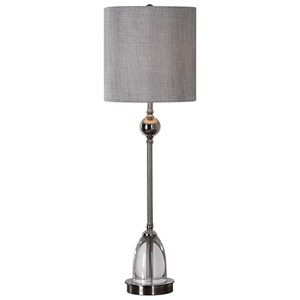 Uttermost Lamps Gallo Nickel Buffet Lamp