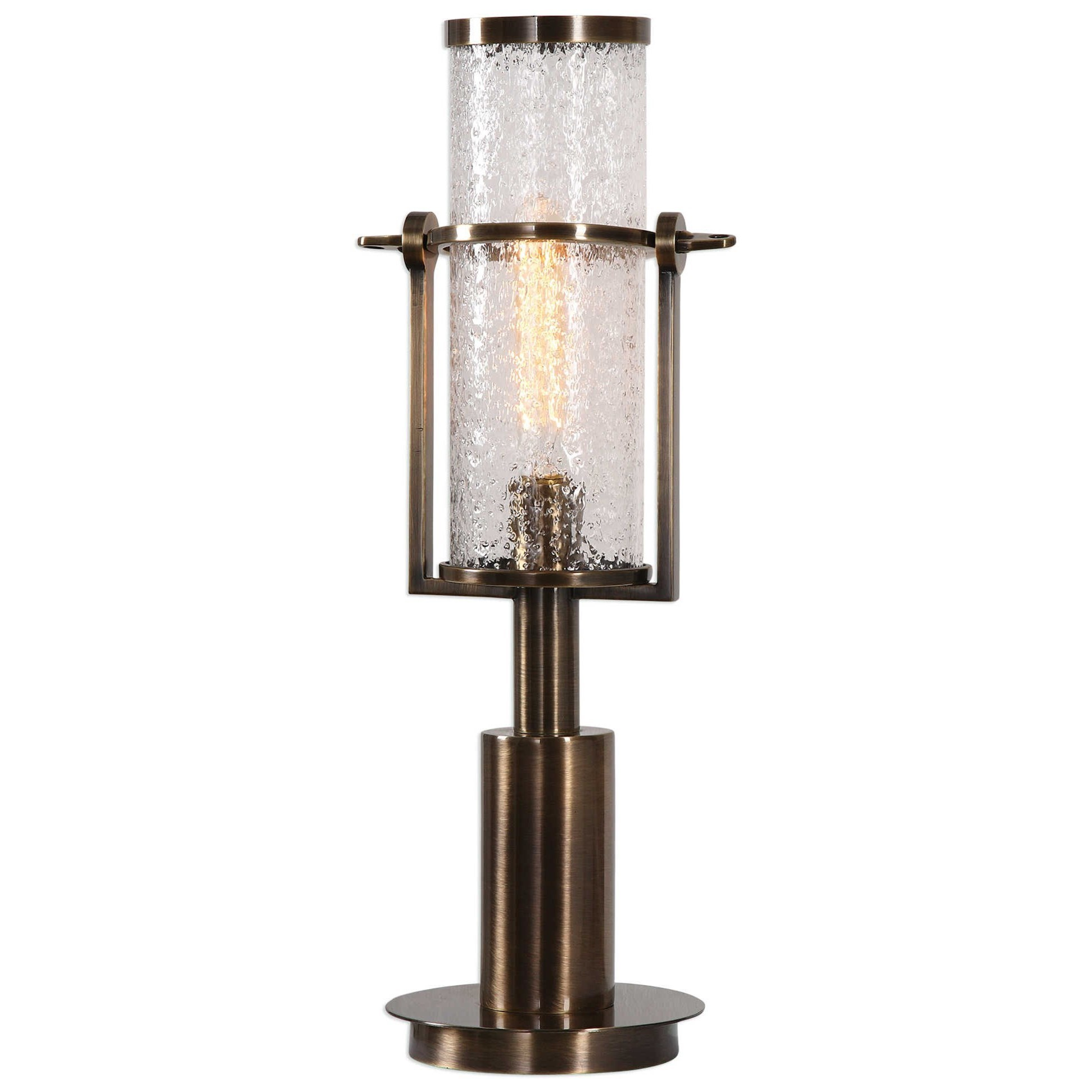 Accent Lamps Marrave Stacked Iron Lamp by Uttermost at Suburban Furniture