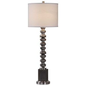 Lauzon Burnished Silver Lamp