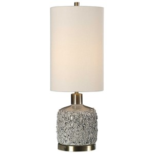 Privola Gray Ceramic Lamp