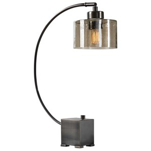Uttermost Lamps Cervino Arched Iron Lamp