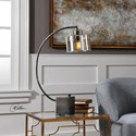 Uttermost Accent Lamps Cervino Arched Iron Lamp
