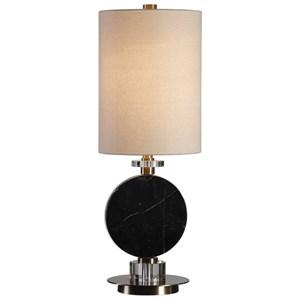 Uttermost Lamps Morena Black Marble Lamp