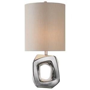 Uttermost Lamps Allira Modern Chrome Lamp