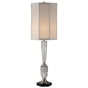 Uttermost Lamps Eliza Crystal Lamp