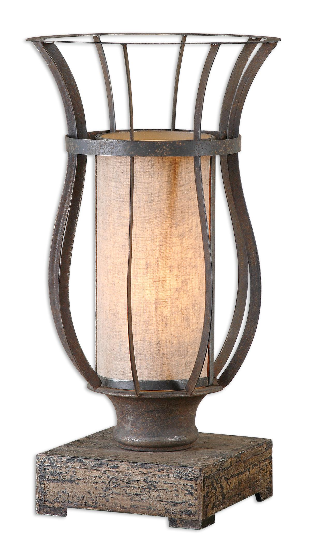 Accent Lamps Minozzo Bronze Accent Lamp by Uttermost at Sprintz Furniture