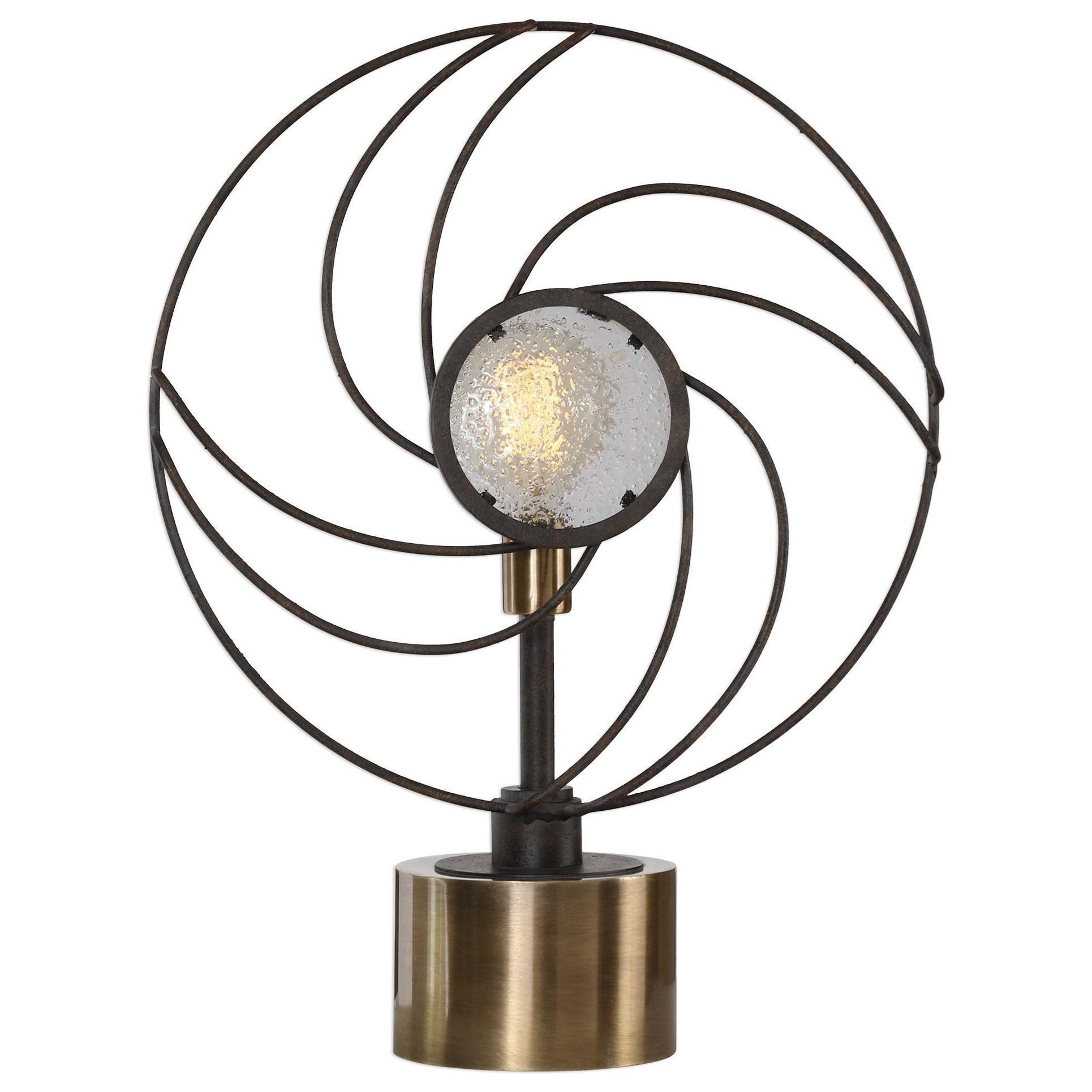 Ventilador Black Accent Lamp