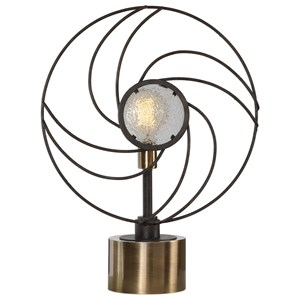 Ventilador Black Accent Lamp