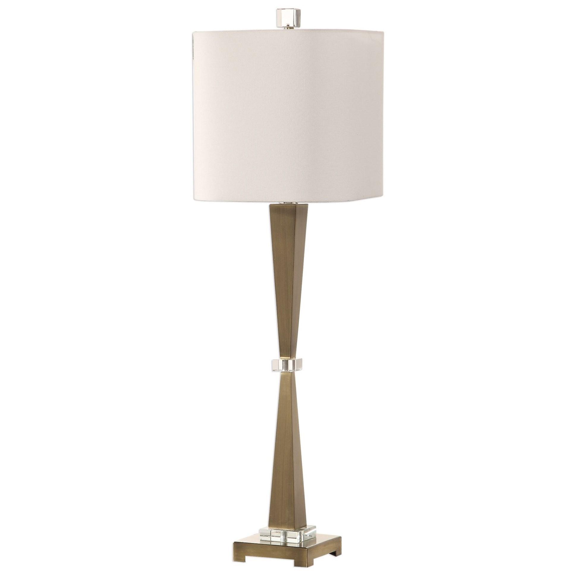 Niccolai Antiqued Nickel Lamp