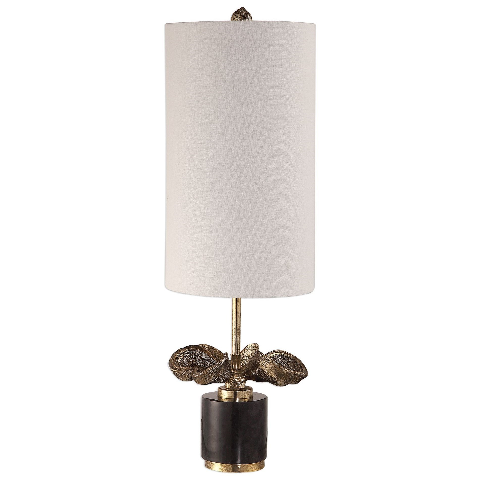 Sterculia Antique Gold Champagne Lamp